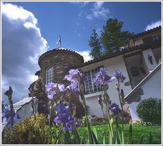 Chateau du Sureau in Oakhurst, California. Gorgeous 18th-Century style castle-hotel and grounds. http://www.chateausureau.com