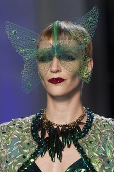 Jean Paul Gaultier at Couture Spring 2014 - Details Runway Photos