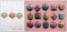 inspiration and realisation: DIY Fashion + Home: Do-Inspire-Yourself #13 // yummy diamonds!