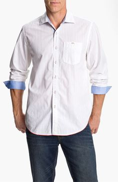 Tommy Bahama Denim 'Destination Dobby' Sport Shirt available at #Nordstrom