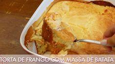 Como fazer Torta de frango com massa de batata - Segredinhos #146
