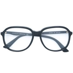 ffe45c6a051 Gucci Eyewear oversized glasses (390 AUD) ❤ liked on Polyvore featuring  accessories