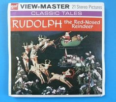 Rudolph the Red-Nosed Reindeer Vintage View-Master Reels