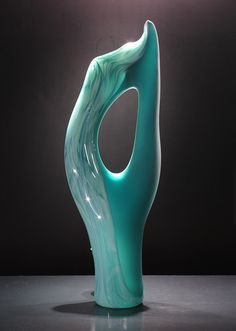 Vilano Glass Sculpture by KatzGlassDesign on Etsy, $1950.00
