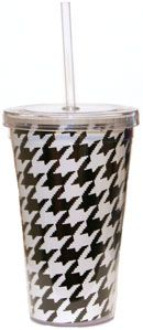 houndstooth sippy cup