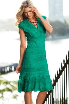 Dresses - Capture Lace Knot Dress - EziBuy New Zealand