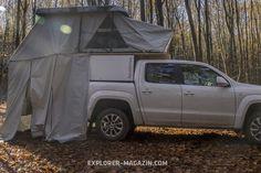 Pickup-Kabine Dachzelt Kombination Apodemus Kabine, Explore, Outdoor Camping, Exploring