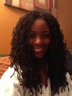 pretty  Sisterlocks full sister locks and great smile