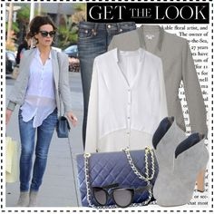 Celeb Style: Kate Beckinsale by zhris on Polyvore featuring moda, Helmut Lang, R13, Roberta Furlanetto, Chanel, Oliver Goldsmith and Jo Malone