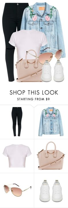 """""""Thursday"""" by smartbuyglasses-uk ❤ liked on Polyvore featuring Givenchy, Ted Baker, Golden Goose, Pink and tedbaker"""