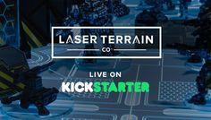 Live on #kickstarter #LaserTerrain - http://ift.tt/1OmzAni  #warmongers #infinitythegame #spacehulk #warhammer40k #malifaux #tabletopgaming #bgg #spikeybits