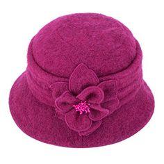 85d2ed0b Beret, Gatsby, Bucket Hat, 1920s, Hot Pink, Winter Hats, Berets, Bob, Pink  Hair