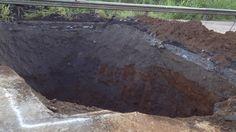 CONAVI necesitará 3 semanas para reparar hueco en General Cañas y usará 2 puentes Bailey