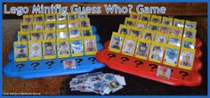 5 Days Of Learning With Legos - Lego Guess Who? and Memory Game