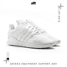 Der Equipment Support ADV von adidas ist ab dem 01.07.2016 0:01 Uhr onLine auf www.soulfoot.de für €149,95 erhältlich! #adidas #adidasoriginals #equipment #allwhite #sneaker #soulfoot #slft