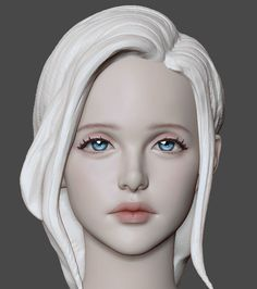Discover recipes, home ideas, style inspiration and other ideas to try. Zbrush Character, Character Modeling, 3d Character, Character Design, 3d Modeling, Star Citizen, Girl Anatomy, Modelos 3d, Face Sketch