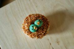 vida*nullvier: Oster Cupcakes - Vogelnester
