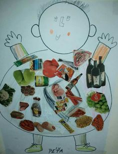 All natural cleanse and clean eating programs based on fresh pressed juices, soups and vegetarian or raw food menus. Five Senses Preschool, My Five Senses, Toddler Crafts, Preschool Crafts, Healthy And Unhealthy Food, Diy And Crafts, Crafts For Kids, Natural Cleanse, Dental Health