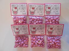 Hello Kitty Party Favors Hello Kitty Birthday by TheSweetRevenge, $45.00