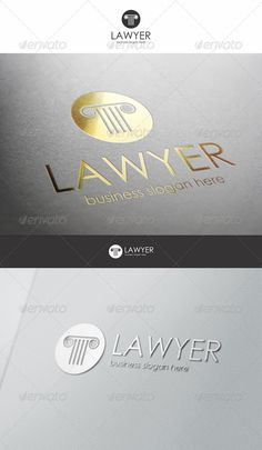 Lawyer Logo — Vector EPS #law firm #advisor • Available here → https://graphicriver.net/item/lawyer-logo/6306808?ref=pxcr