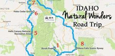 This Natural Wonders Road Trip Will Show You Idaho Like You've Never Seen It Before