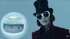 6c32395557 Willy Wonka invented the clout goggles before they were cool.