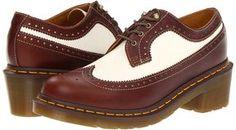 shopstyle.com: Dr. Martens - Shannon Brogue Shoe (Tan/Winter White) - Footwear