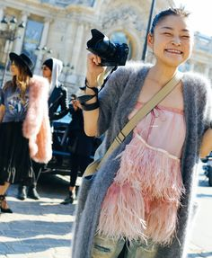 Rei Shito- love her. Phil Oh's Fashion Week Street Style: Spring 2016