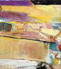ART & ARTISTS: Richard Diebenkorn 'Berkeley Series', #54, 1955
