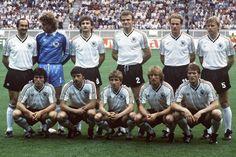 1974 West Germany football/soccer Above: Hoeness, Overath, Grabowski, Müller, Höttges, Nigbur ...