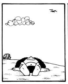 Mafalda al sol, Quino