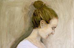 """Ane"" Oil on canvas, 2016 , Per Adolfsen"