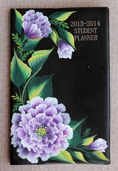 Planner painted in One stroke painting style by Monica Bhattacharya    Beautifully done...