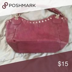 Shoe dazzle purse Large maroon purse from shoe dazzle, only used for about a week. In great condition Shoe Dazzle Bags Satchels