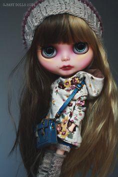 G.Baby Custom Blythe doll. Hedwig #blythe