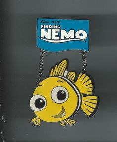 DISNEY PINS | Nemo • Finding Nemo Limited Edition Dangle Pin