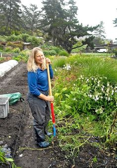 """Vegetables as a Way of Life"" from the LA Times about Esalen Institute's Farm and Garden near Big Sur, CA"