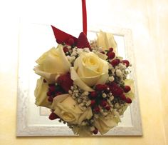 bouquet fragole con..rose