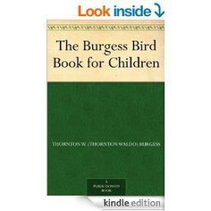 Kindle Free Burgess Bird Book (OFE)