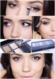Maybelline The Nudes Palette #MNYInsider @Maybelline http://youtu.be/XS-Y45_XP2c