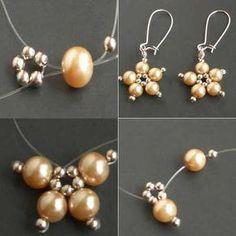 Handmade Jewelry Business, Diy Jewelry Unique, Diy Jewelry To Sell, Diy Jewelry Projects, Diy Jewelry Making, Jewelry Crafts, Jewelry Ideas, Beads Making, Necklace Ideas