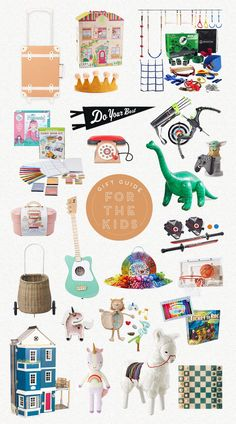 "I'm back again with another holiday gift guide – this time for the kiddos! I really loved putting this one together! I had my kids vet this list and I got  a lot of positive feedback, although my son did say there were too many ""girl"" toys. ha! 8 year olds."