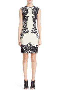 This floral print sheath dress from the NSale is going to be perfect for the big event coming up. The mirrored floral motif was strategically placed to accentuate the beautiful feminine silhouette.