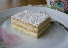 Omlós krémes recept foto Hungarian Recipes, Sweet And Salty, Vanilla Cake, Nutella, Cheesecake, Deserts, Clean Eating, Cupcake, Food And Drink