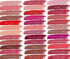 36 LipSense colors  Distributor 192366 Luscious Lips with Bianca