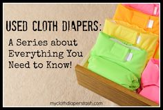 "@Julie Murphy is doing a great series on used cloth diapers. Today's post is ""I want my money back!"""