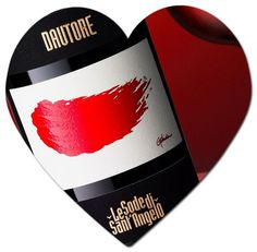 Valentines day wine love  Dautore by Sodesantangelo