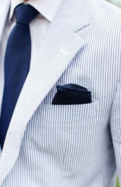 seersucker suit look