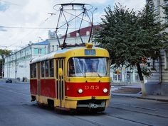 A tram in Orel, Russia | Flickr - Photo Sharing!