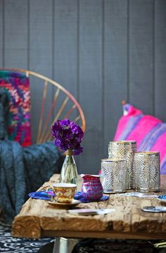 Fun colors and accessories are perfect for an outdoor soirée .